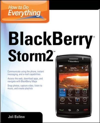 How to Do Everything: BlackBerry Storm2 Mms-alarm