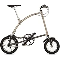 Ossby Curve Bicicleta Plegable, Unisex Adulto, Beige Metálico, Talla Única