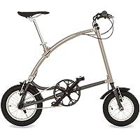 Ossby Curve Bicicleta Plegable, Unisex Adulto, Beige Metálico, Talla Única