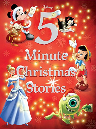Disney 5-Minute Christmas Stories (5-Minute Stories) (Fest Disney)