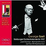 GEORGE SZELL: Mozart Symphony K201 & K550, Piano Concerto K503 / Mendelssohn Violin Concerto / Beethoven Symphony No.3 / Debussy La Mer - Live recordings 1957
