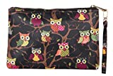 #9: Scoop street 22052A Black-Multi Cosmetic Pouch