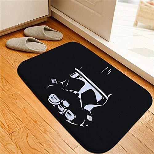 CGDZ Kreative Star Wars Gedruckt Fußmatte Fußmatten rutschfeste Teppiche Galactic Empire Darth Vader Teppiche Bad Teppich Küchenmatten 400mm x 600mm 11 (Star Wars Auto-fußmatten)