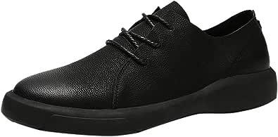 Oyedens Scarpe da Barca Uomo Scarpe da Corsa Uomo Pelle Estivi Pantofole Eleganti Slip On Scarpe da Guida Scarpe da Barca Casual Flat Non-Slip Comfortable Soft Leather Shoes 2019 Nuovo Moda