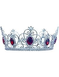Los hombres de la imperial Pageant rígida concurso Theather círculo redondo rojo King Full corona