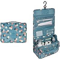 Trucco Organizzatore cosmetici borsa da viaggio Kit Organizer da appendere borsa da toilette e cosmetici borsa Set 4.7