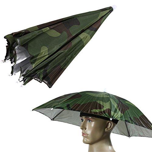 Broadroot Sombrero de Paraguas Protable, Tamaño único, Sombrero DE 6