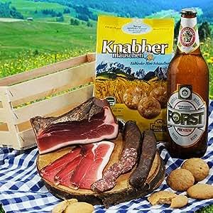 Südtiroler Spezialitäten Kistl Geschenkkorb Präsent