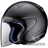 Arai-Casco Jet Arai SZ-F Black Frost
