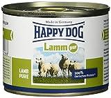Happy Dog Fleisch Dosen Lamm Pur, 200 g, 12er Pack (12 x 200 g)