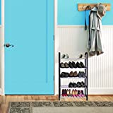 #2: Story @ Home Easy To Assemble & Light Weight, 5 Shelves Free Simple Standing,Foldable Shoe Rack