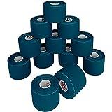 Nastro kinesiologico 5 m x 5,0 in colori differenti di AlpidexIl nastro kinesiologico, di alto valore, è un nastro in cotone estendibile solo nel senso della lunghezza. L'elasticità del nastro (30 - 40% corrispondente al 130 - 140% dell'estensione co...