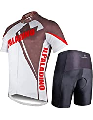 Cyclisme Jersey Shorts d'homme 100% polyester à manches courtes Tops Tight Pants Set ultraviolet résistant à séchage rapide respirantes pour Printemps Automne / Automne couleur Brochage