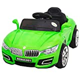 #4: Baybee BWM Battery Operated Ride On Car for Kids with Music, Horn, Headlights with 30Kg Weight Capacity - Green