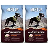 Meat Up Puppy Dog Food, 10 kg (Buy 1 Get 1 Free)