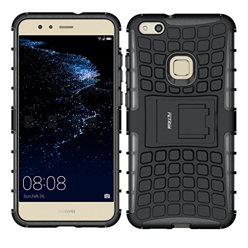 Huawei-P10-Lite-Hlle-Huawei-P10-Lite-Case-Fetrim-Silikon-TPU-plastik-Schlank-Schutzhlle-Handyhlle-Stofest-Schutz-Etui-handy-Doppelstruktur-fall-Harte-Rstung-cover-schale-fr-Huawei-P10-Lite-mit-Stnder