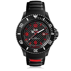 Ice-Watch Carbon Montre Homme Analogique Quartz avec Bracelet en Silicone – 001494