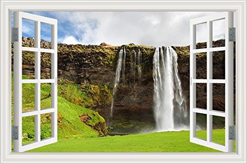 forest-pool-wasserfall-3d-wandtattoo-home-decor-natur-landschaft-wandsticker-vinyl-tapete-w0836-32x4