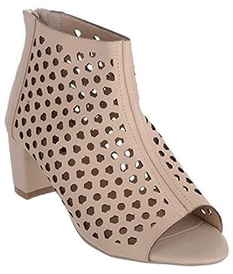 Shuz Touch Apricot Sandal