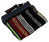 Guru-Shop Ethno Portemonnaie, Geldbeutel - Grau, Herren/Damen, Baumwolle, Size:One Size, 9x11 cm, Portemonaise aus Stoff