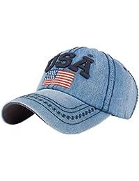 TEBAISE Baseball Kappe Basecap Unisex Einstellbare Retro Baseball Hut  Freizeit Cap modischste Cotton Cap Schreiben Outdoor 6f5168cf3d