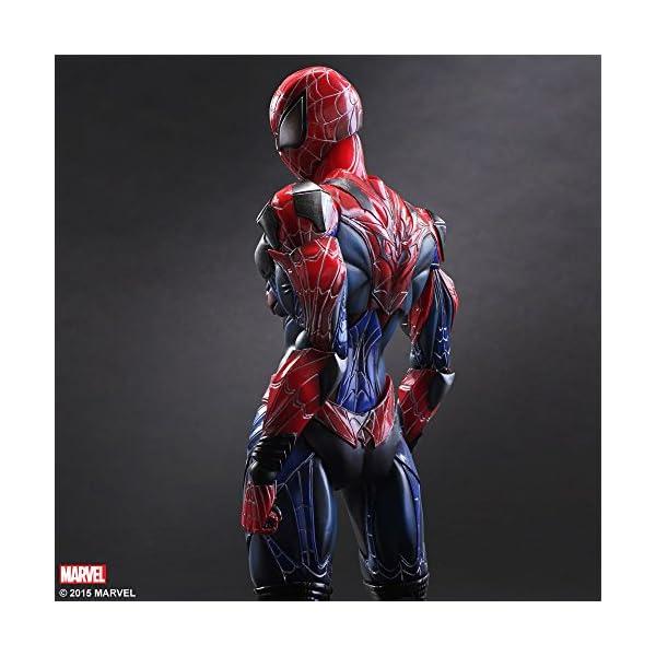 Square Enix Spiderman Marvel Universe Play Arts Kai Figura de acción 2