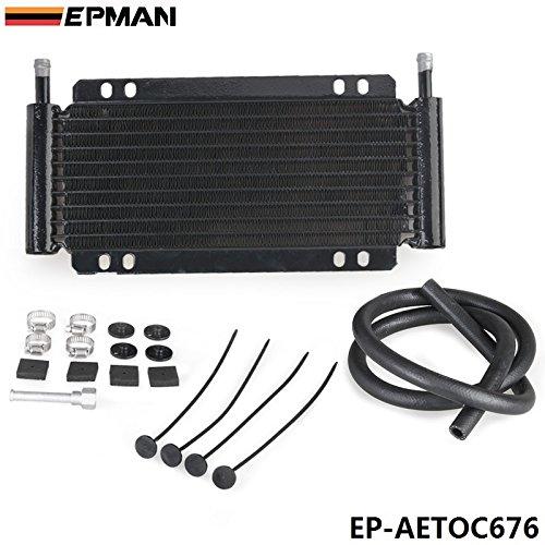 Valoxin (TM) Epman Racing Car performance 9Row Series 8000piastra e kit di trasmissione di raffreddamento pinna ep-aetoc676