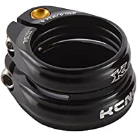 KCNC SC-13 Twin Seatpost Clamp 34.9-31.6mm Alloy Bike Black by KCNC