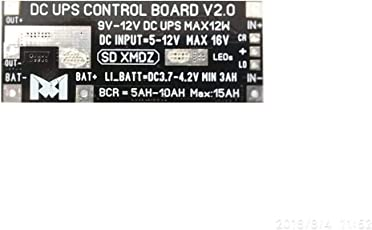 DIY Router UPS Module DC DC Converter Boost Step-up Module Li-lon LiPo Lithium Battery Charge/Discharge (12V 1A 12W)