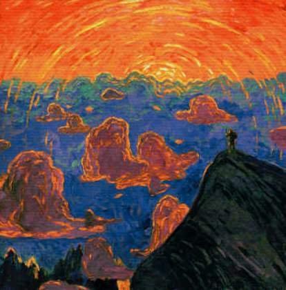 canvas-picture-on-stretcher-wenzel-hablik-sunset-mont-blanc-69-x-70