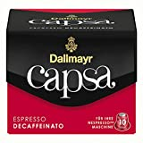 Dallmayr Capsa Espresso Decaffeinato, Nespresso Kapsel, Kaffeekapsel, Espressokapsel, Röstkaffe, 50 Kapseln