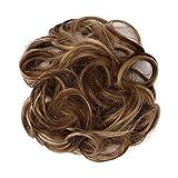 Kaiki Extensions de cheveux, Postiche Cheveux En Caoutchouc Chouchou Chignons Bouclés Ou Chignon Décoiffé (GS-Q5-9H19)