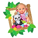 Simba - 105733043 - Ensemble de Poupée - Evi Love - Baby Safari