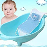 bureze Neugeborene Baby Infant Bad net Sitz Halterung Unterstützung Bett rutschfest Badewanne für Baby-Bad Schutz