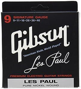 Gibson Gear SEG-LPS Cordes nickelé pour Guitare électrique Extra Léger