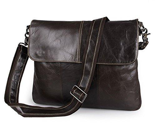 Itslife-Mens-Top-Layer-Leather-Shoulder-Business-Briefcase-Messenger-Bag-With-Strap