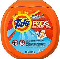 Tide PODS Laundry Detergent Pacs - Ocean Mist - 72 ct