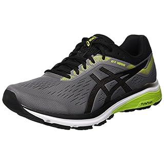 Asics Men's Gt-1000 7 Running Shoes, Grey (Carbon/Black 021), 9 UK (44 EU)