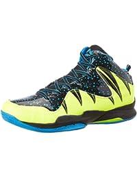 Nivia Heat Basketball Shoes, UK 6 (Black/Aster Blue)