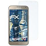 atFolix Panzerfolie für Samsung Galaxy S5 Neo (G903F) Folie - 3 x FX-Shock-Clear stoßabsorbierende ultraklare Displayschutzfolie