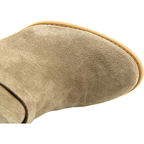 INC International Concepts Jaydie Rund Wildleder Mode-Stiefeletten Warm Taupe
