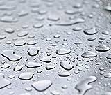 Transparente Tischdecke Glasklar Folie von d-c-Fix, Stärke 0.2 mm, LFGB Lebensmittelecht, Größe Wählbar, 160x130
