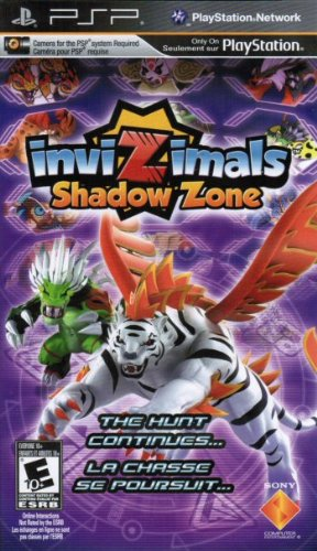 InviZimals 2: Shadow Zone (Game Only) Englisch Import (Psp Pokemon)
