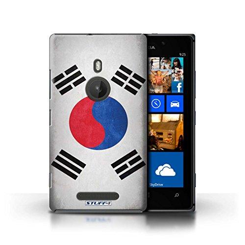 Kobalt® Imprimé Etui / Coque pour Nokia Lumia 925 / Royaume-Uni/Britannique conception / Série Drapeau Corée/coréen