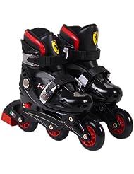 Ferrari Skate Inline FK7 Negro negro Talla:33-36