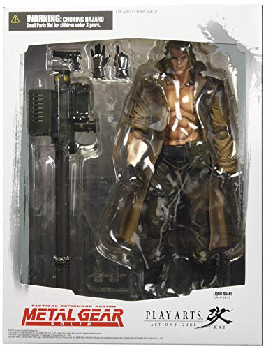 Metal Gear Solid Play Arts Kai Liquid Snake Action-Figur (Solid Snake Play Arts)