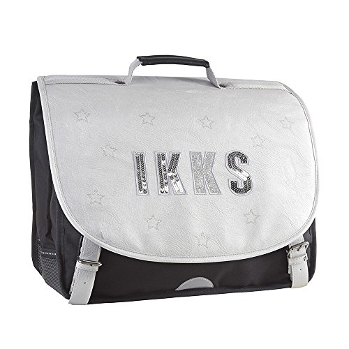 IKKS Lucy In The Sky Cartable, 41 cm, Silver