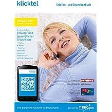 klickTel Telefon- und Branchenbuch Frühjahr 2017