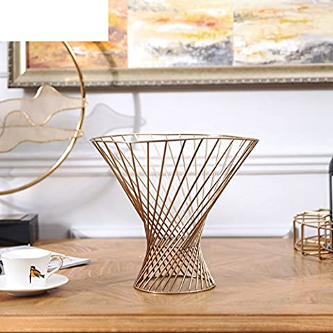 American Minimalism Modern Fruit Baskets Fruit Bowls Copper Ornaments/ Home