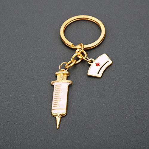 Schlüsselanhänger Schlüsselmäppchen 1 Stück Doctor Medical Tools StethoskopAnhänger Schlüsselanhänger Krankenschwester Medizinstudenten Geschenke Schlüsselbund Llaveros